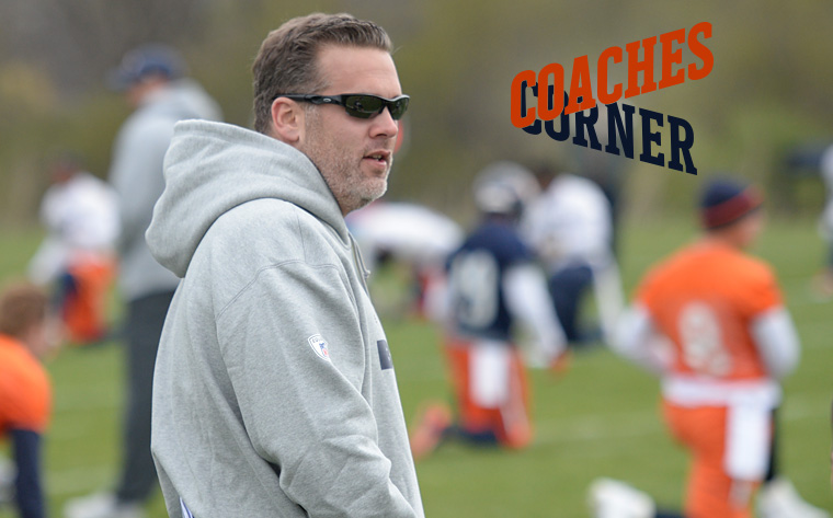 Bears special teams coordinator Jeff Rogers